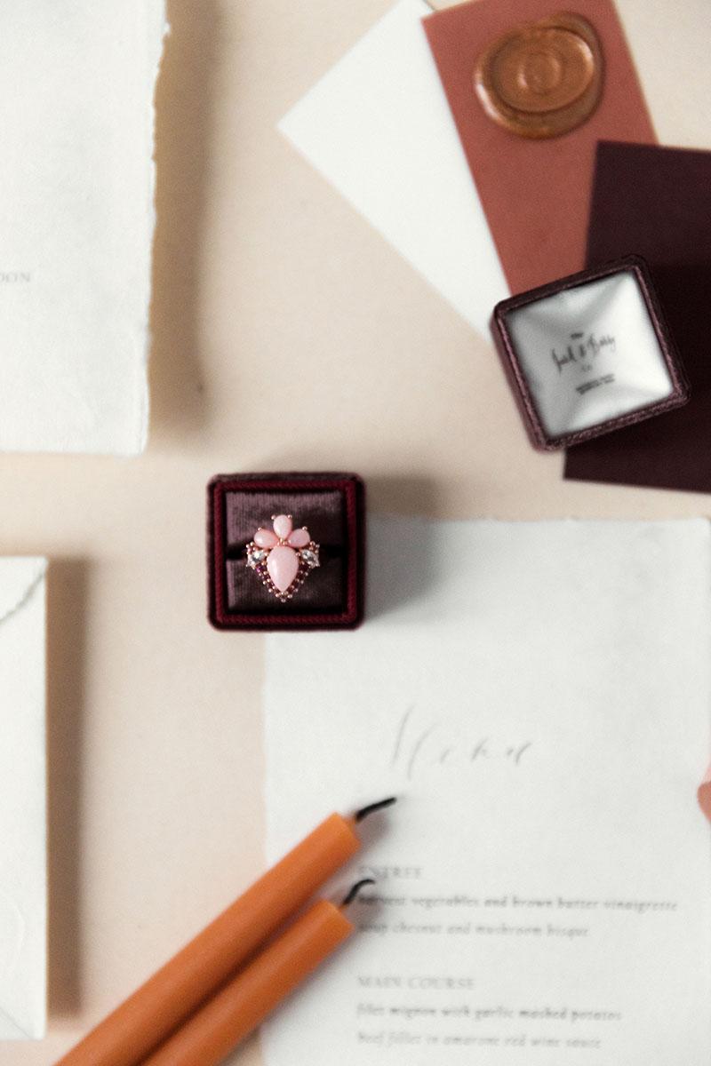 Bark-and-Berry-Prune-double-slot-vintage-wedding-embossed-monogram-velvet-ring-box-005