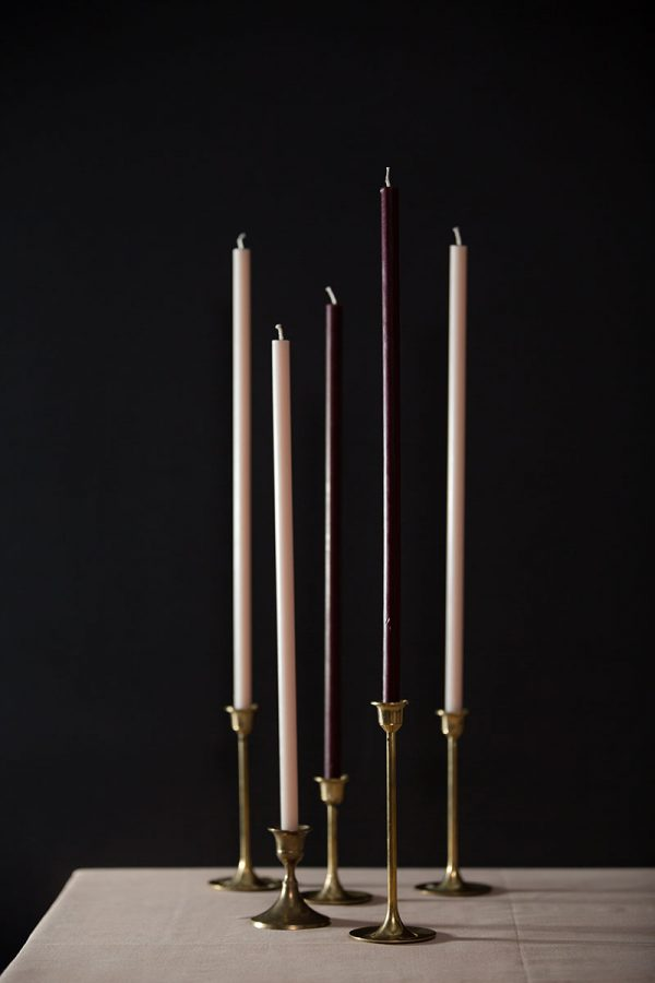 Bark-and-Berry-homemade-wedding-beeswax-tall-taper-thin-color-celebration-candles-straight-400mm-004