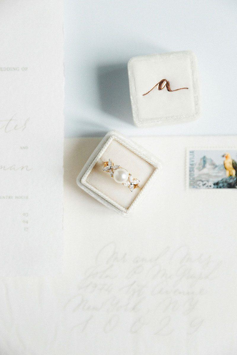 Bark-and-Berry-Ivory-vintage-wedding-debossed-monogram-line-velvet-ring-box-001