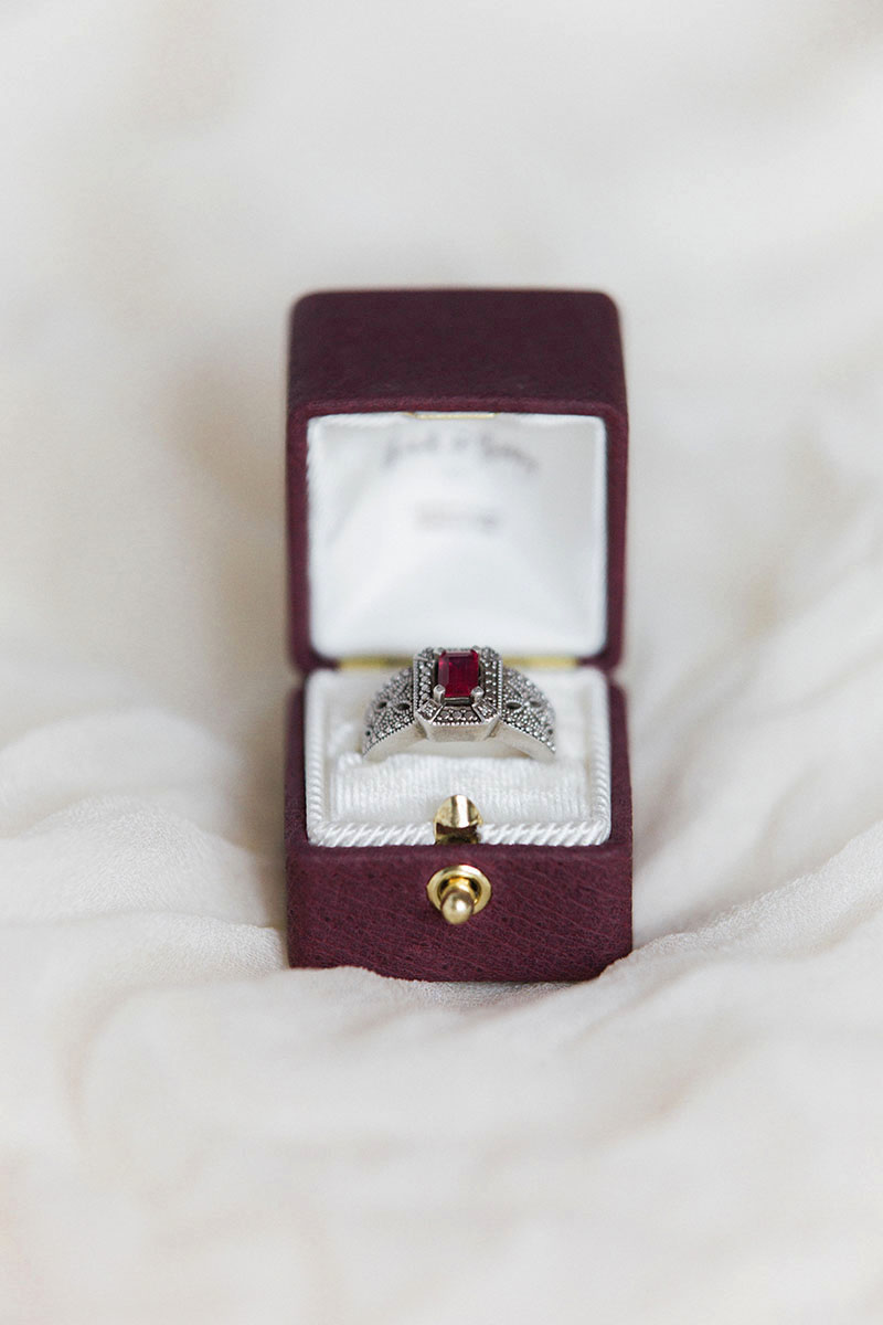 Bark-and-Berry-Victoria-vintage-wedding-embossed-monogram-velvet-leather-ring-box-004