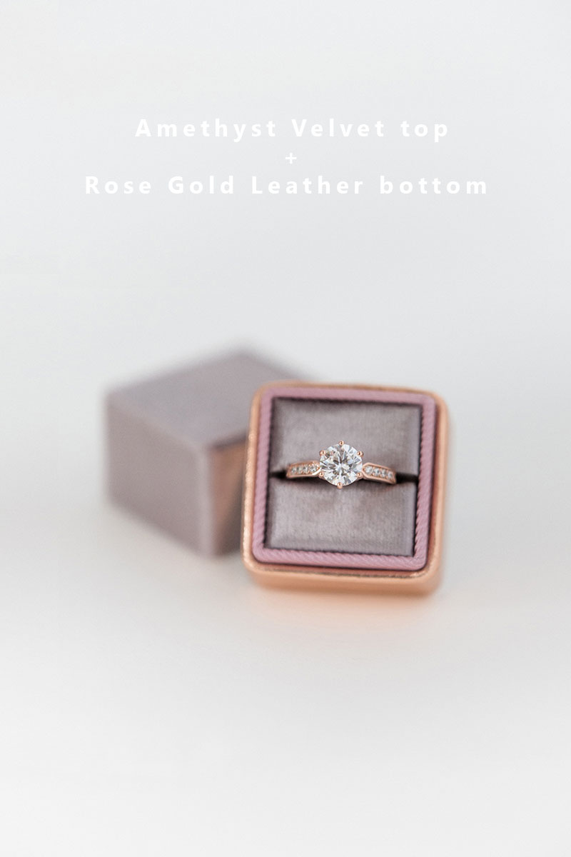 Bark-and-Berry-Amethyst-Rose-Gold-double-slot-vintage-wedding-embossed-monogram-velvet-leather-ring-box-002