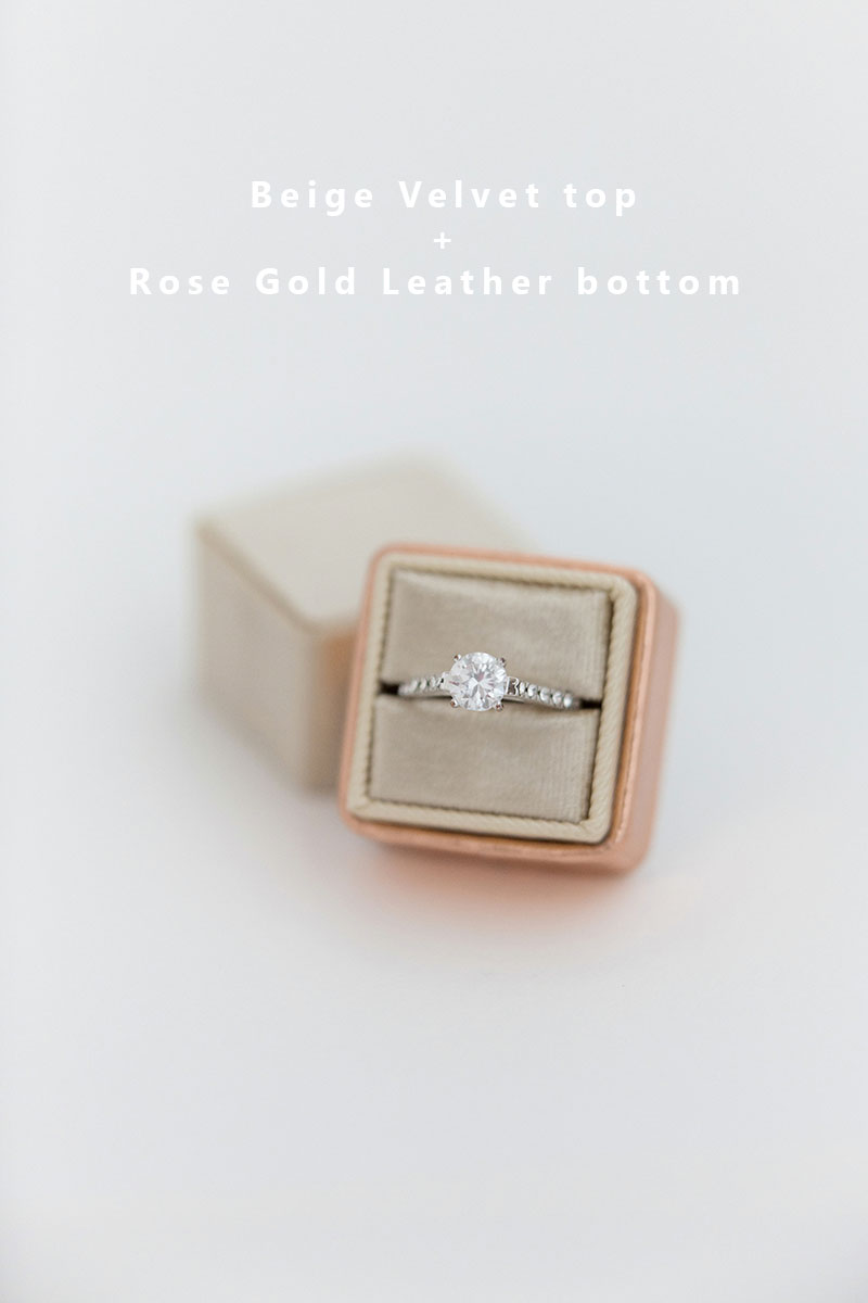 Bark-and-Berry-Beige-Rose-Gold-double-slot-vintage-wedding-embossed-monogram-velvet-leather-ring-box-002