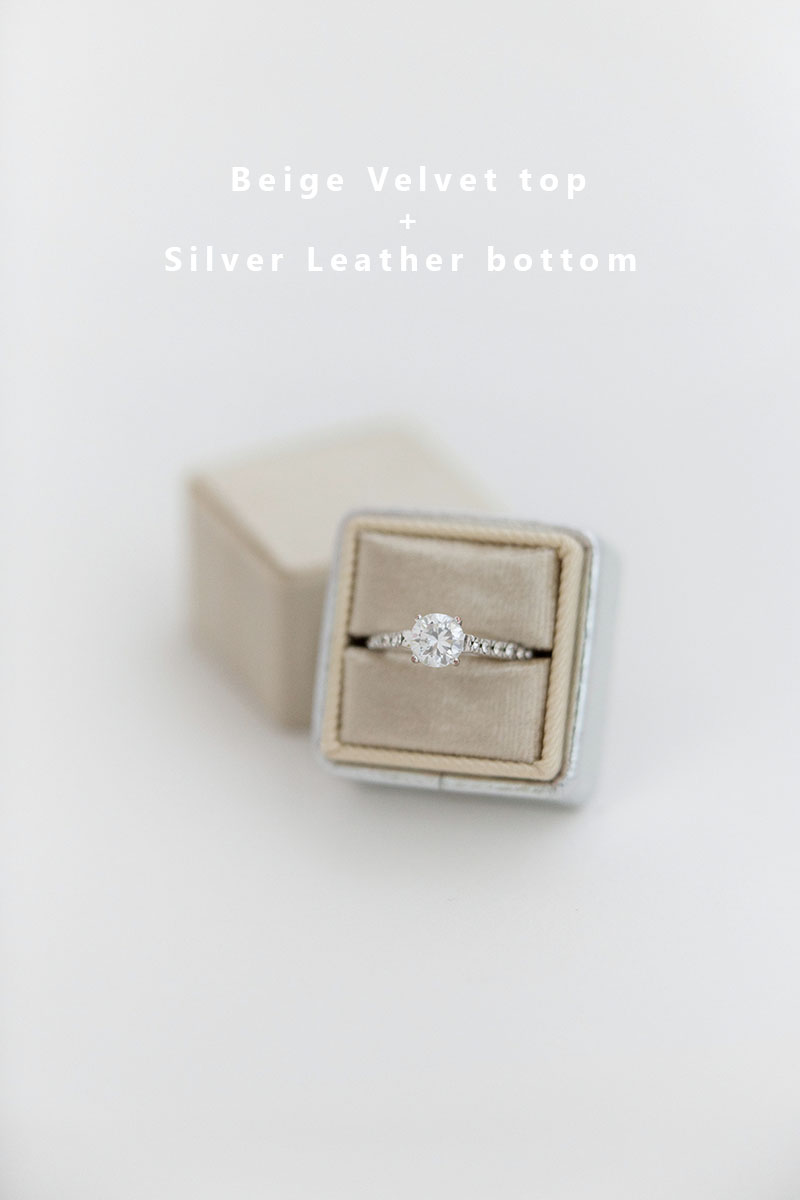 Bark-and-Berry-Beige-Silver-double-slot-vintage-wedding-embossed-monogram-velvet-leather-ring-box-002