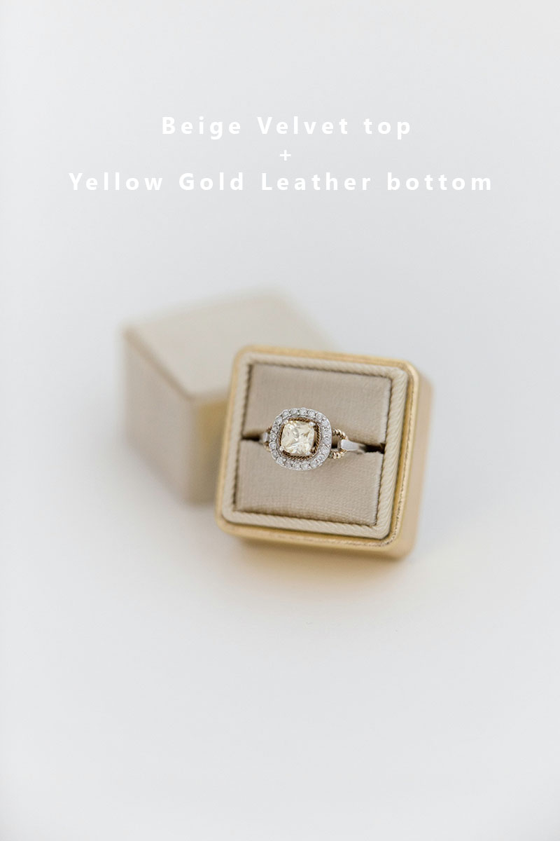Bark-and-Berry-Beige-Yellow-Gold-double-slot-vintage-wedding-embossed-monogram-velvet-leather-ring-box-002