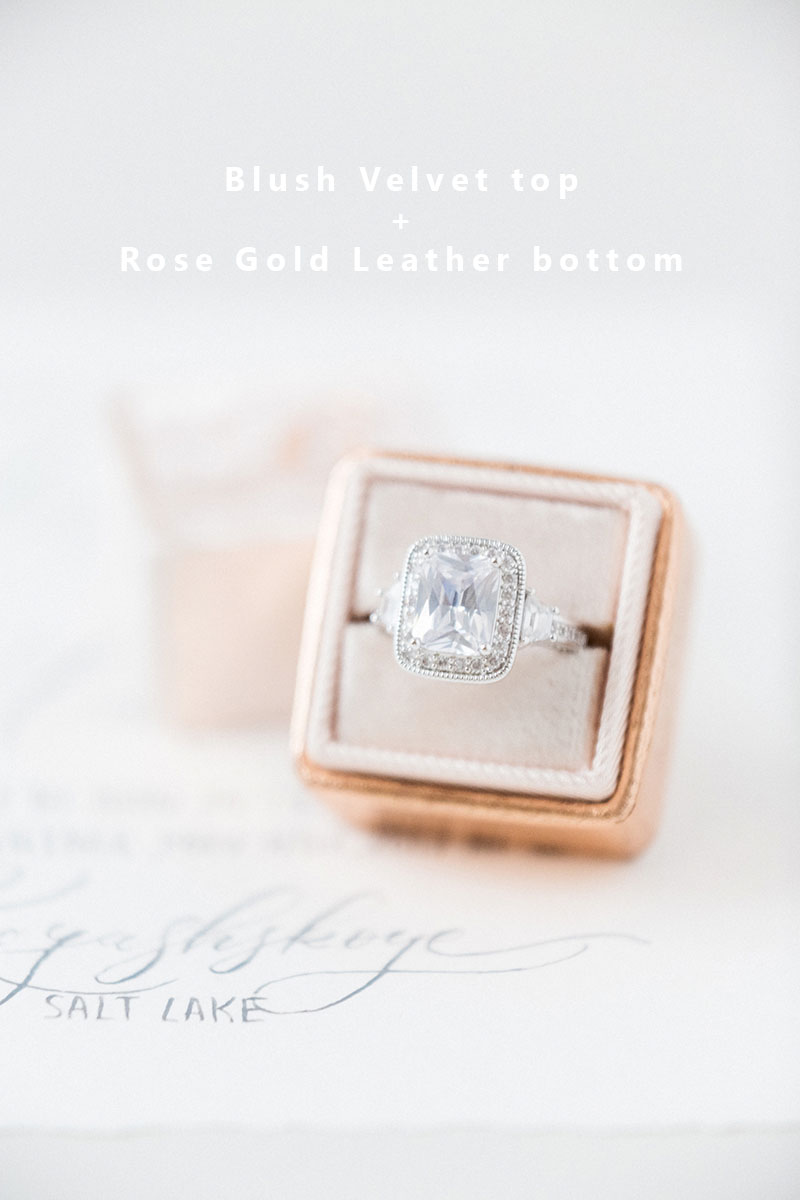 Bark-and-Berry-Blush-Rose-Gold-double-slot-vintage-wedding-embossed-monogram-velvet-leather-ring-box-008