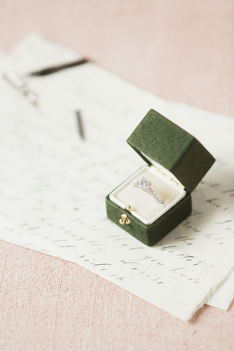 Bark-and-Berry-Charlotte-vintage-wedding-embossed-monogram-velvet-leather-ring-box-002
