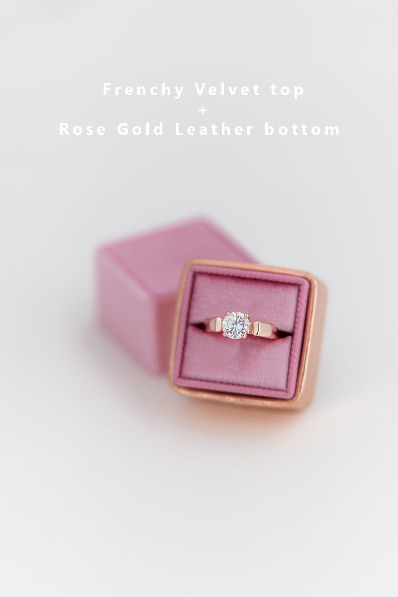 Bark-and-Berry-Frenchy-Rose-Gold-double-slot-vintage-wedding-embossed-monogram-velvet-leather-ring-box-002