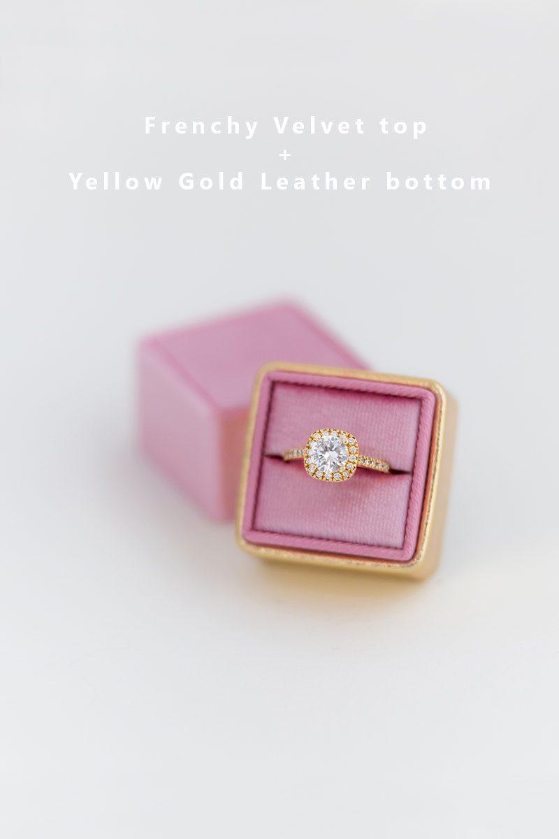 Bark-and-Berry-Frenchy-Yellow-Gold-double-slot-vintage-wedding-embossed-monogram-velvet-leather-ring-box-002
