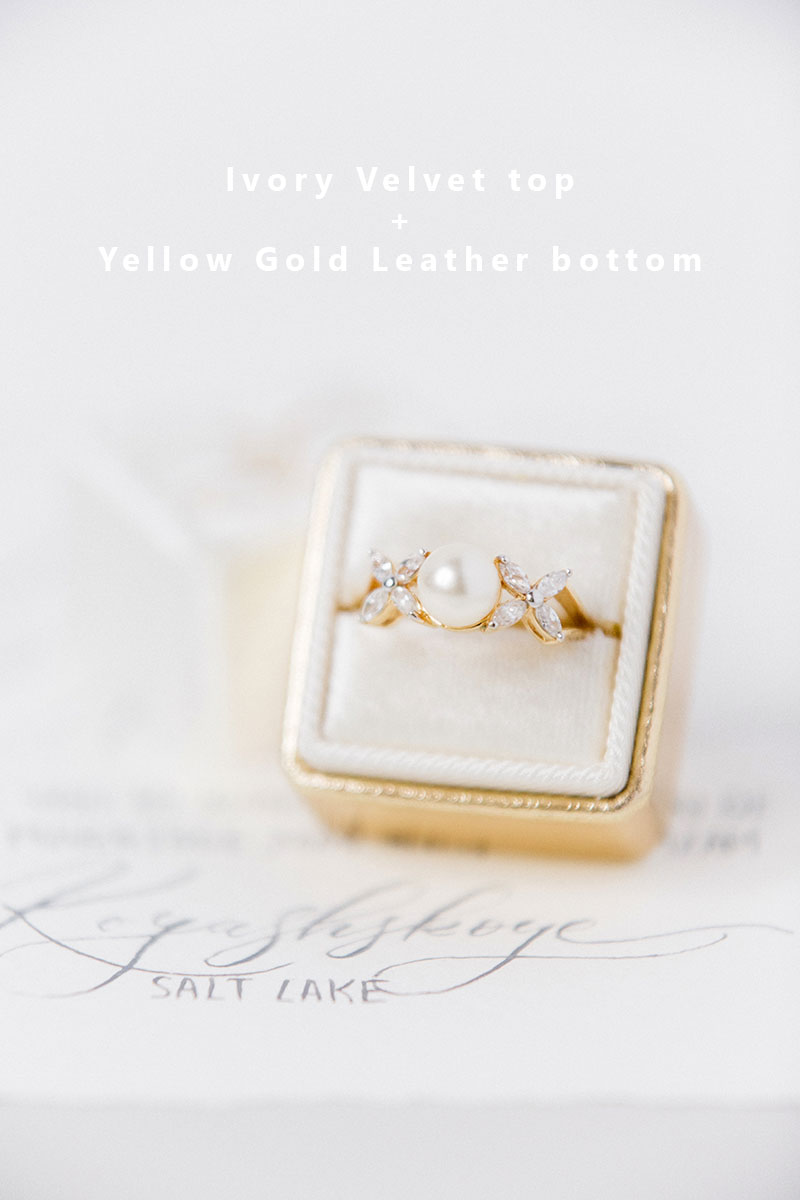 Bark-and-Berry-Ivory-Yellow-Gold-double-slot-vintage-wedding-embossed-monogram-velvet-leather-ring-box-003