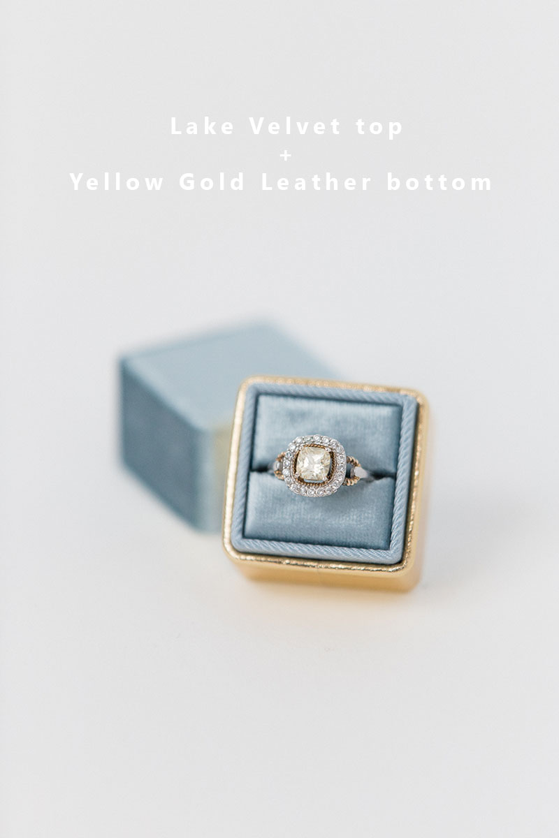 Bark-and-Berry-Lake-Yellow-Gold-double-slot-vintage-wedding-embossed-monogram-velvet-leather-ring-box-002