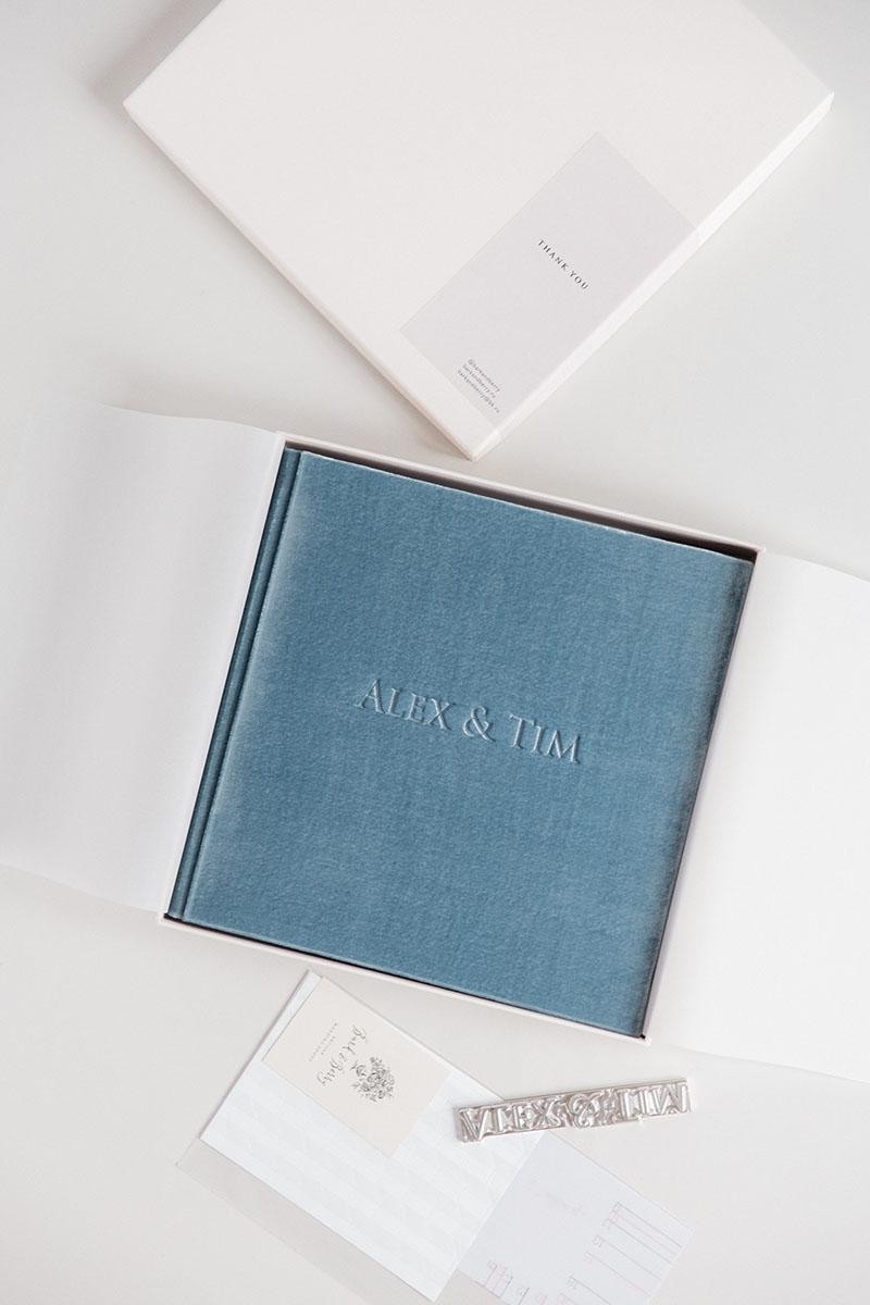 Bark-and-Berry-Lake-vintage-velvet-wedding-embossed-monogram-guest-book-photoalbum-003