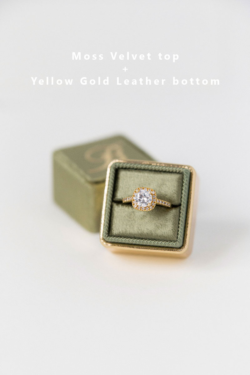 Bark-and-Berry-Moss-Yellow-Gold-double-slot-vintage-wedding-embossed-monogram-velvet-leather-ring-box-002