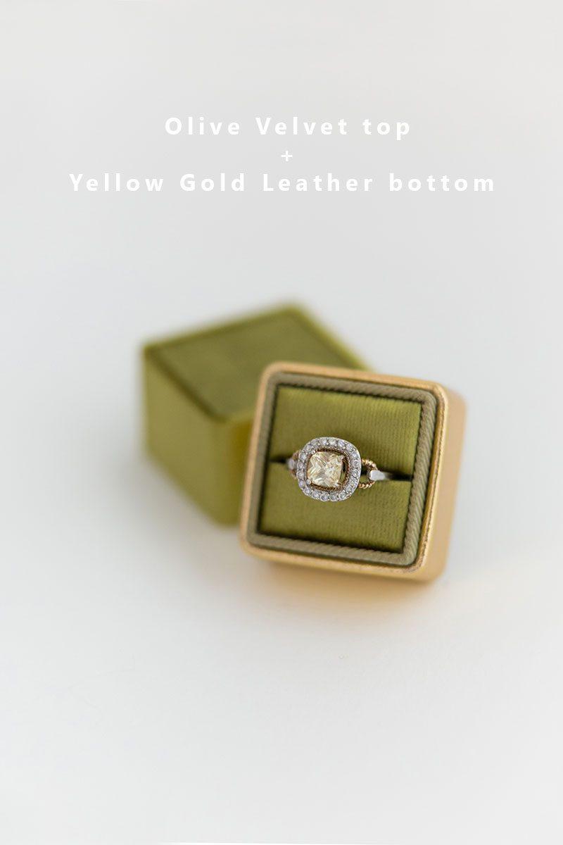 Bark-and-Berry-Olive-Yellow-Gold-double-slot-vintage-wedding-embossed-monogram-velvet-leather-ring-box-002