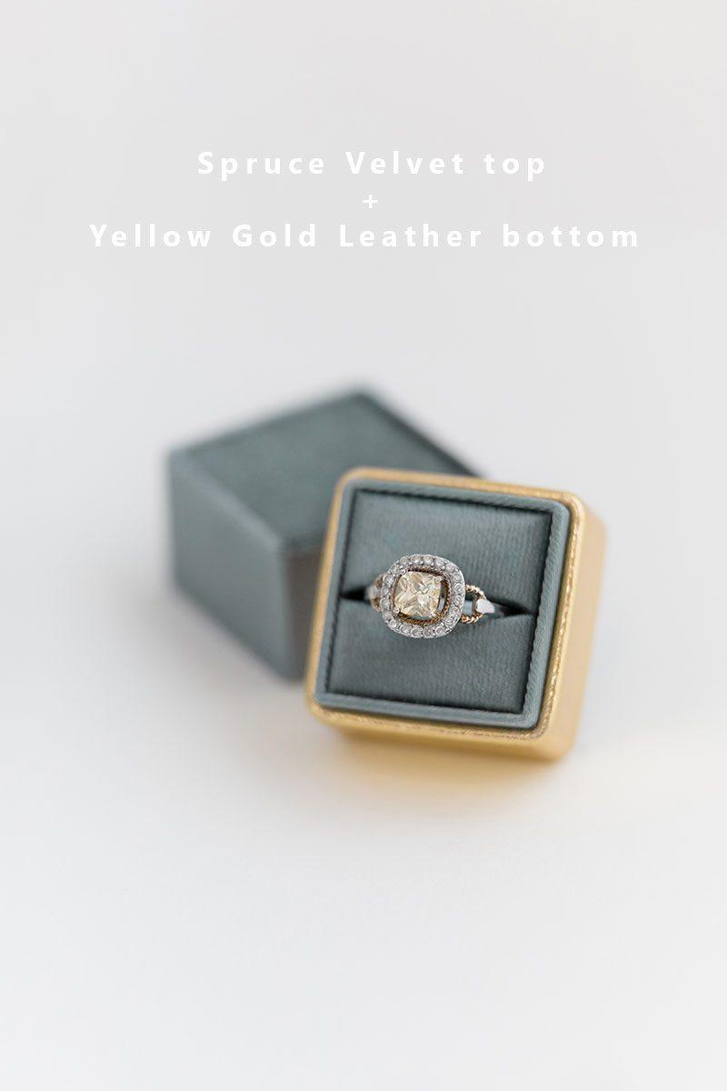 Bark-and-Berry-Spruce-Yellow-Gold-double-slot-vintage-wedding-embossed-monogram-velvet-leather-ring-box-002