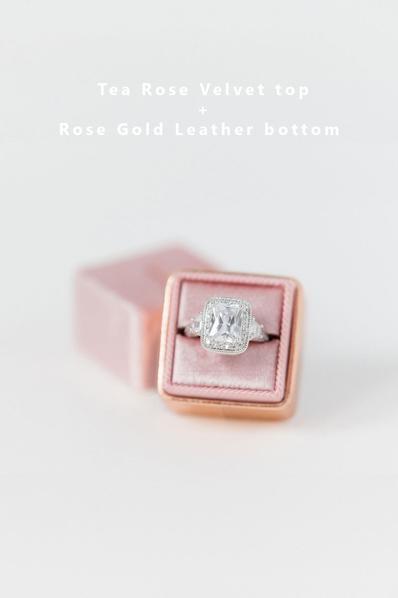 Bark-and-Berry-Tea-Rose-Rose-Gold-double-slot-vintage-wedding-embossed-monogram-velvet-leather-ring-box-002