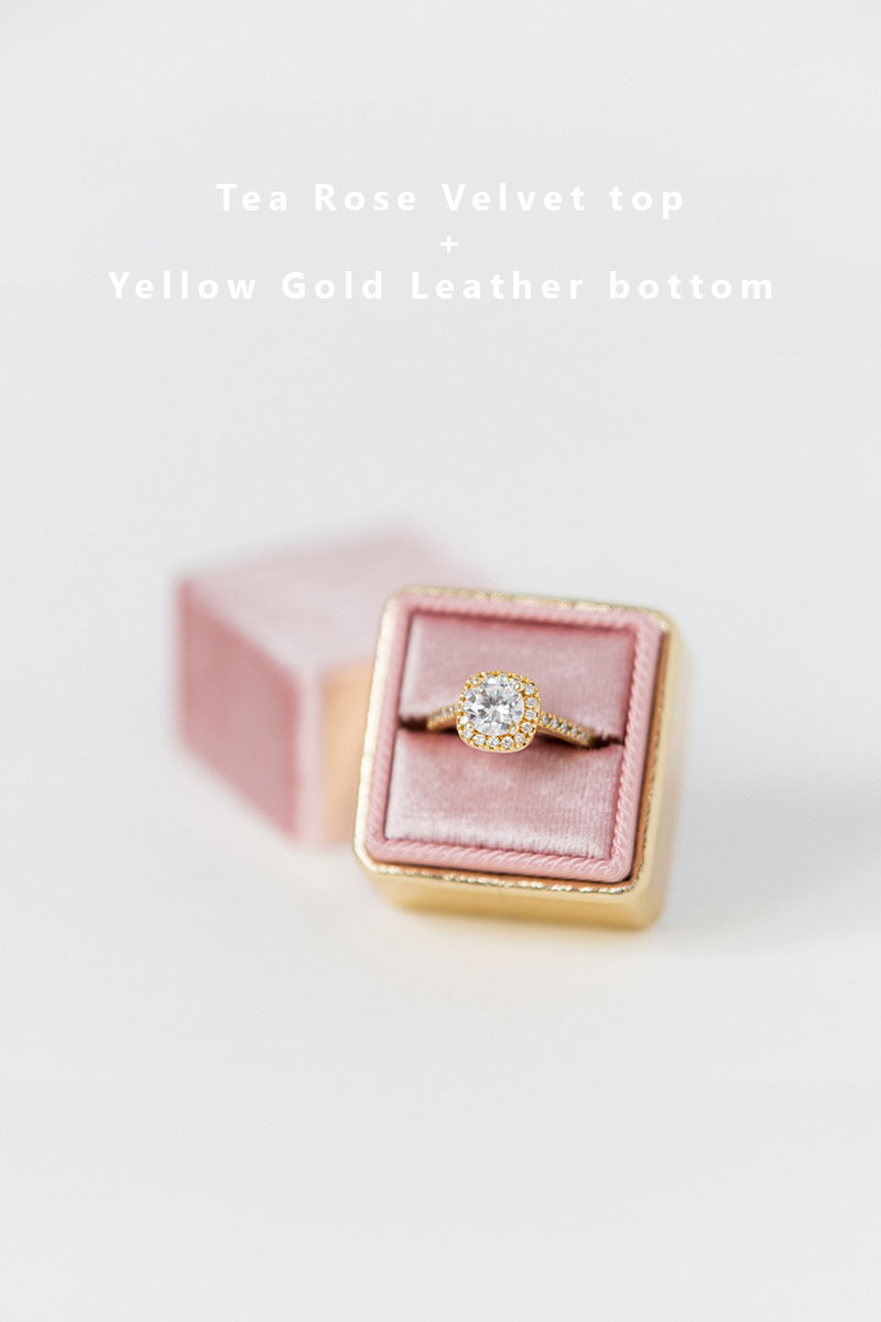 Bark-and-Berry-Tea-Rose-Yellow-Gold-double-slot-vintage-wedding-embossed-monogram-velvet-leather-ring-box-002