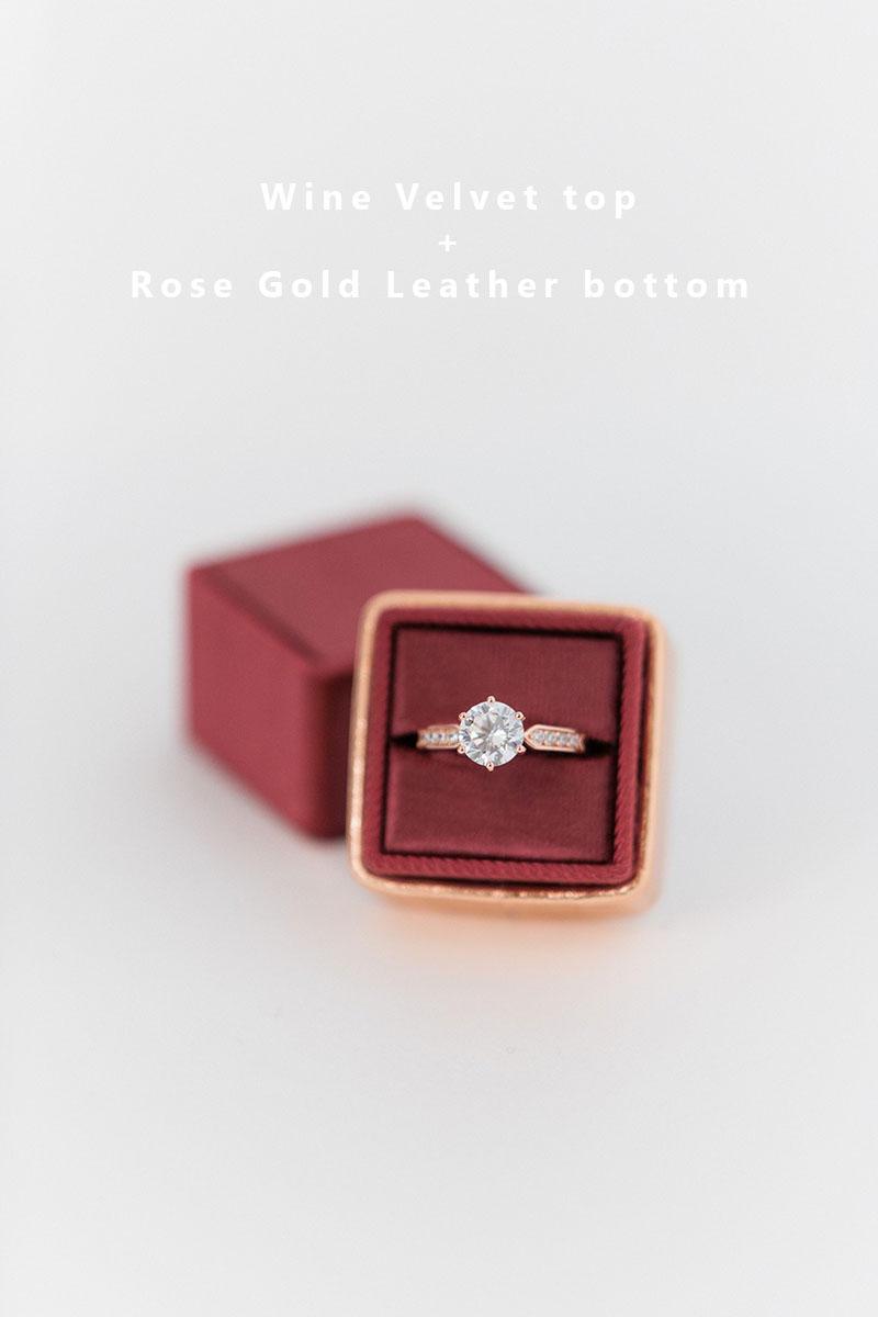 Bark-and-Berry-Wine-Rose-Gold-double-slot-vintage-wedding-embossed-monogram-velvet-leather-ring-box-002