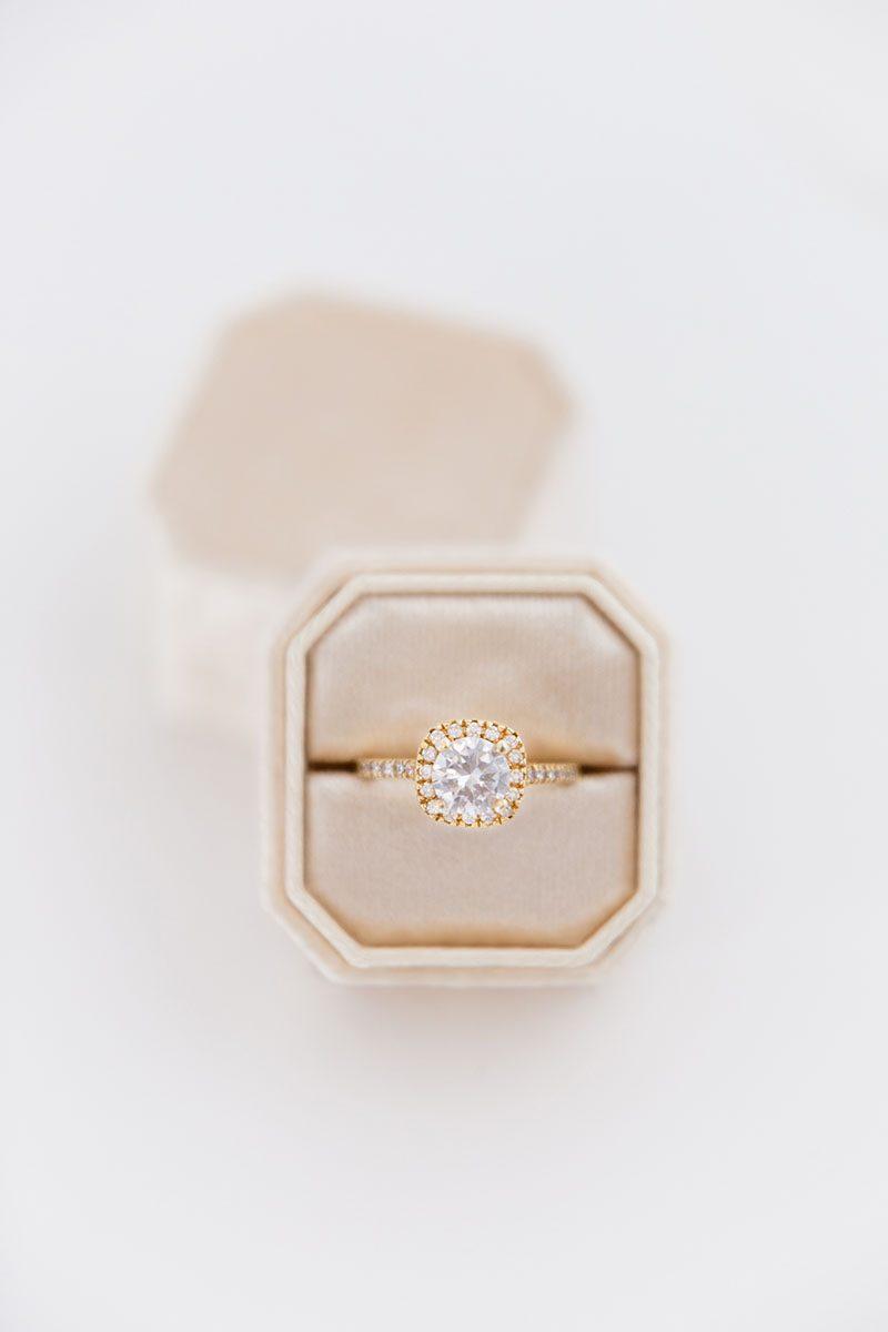 Bark-and-Berry-Cream-double-slot-vintage-wedding-embossed-monogram-octagon-velvet-ring-box-001