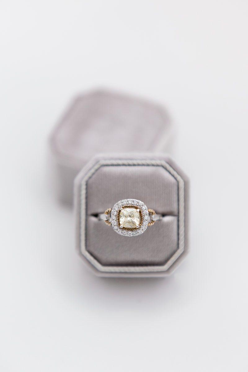 Bark-and-Berry-Fossil-double-slot-vintage-wedding-embossed-monogram-octagon-velvet-ring-box-001