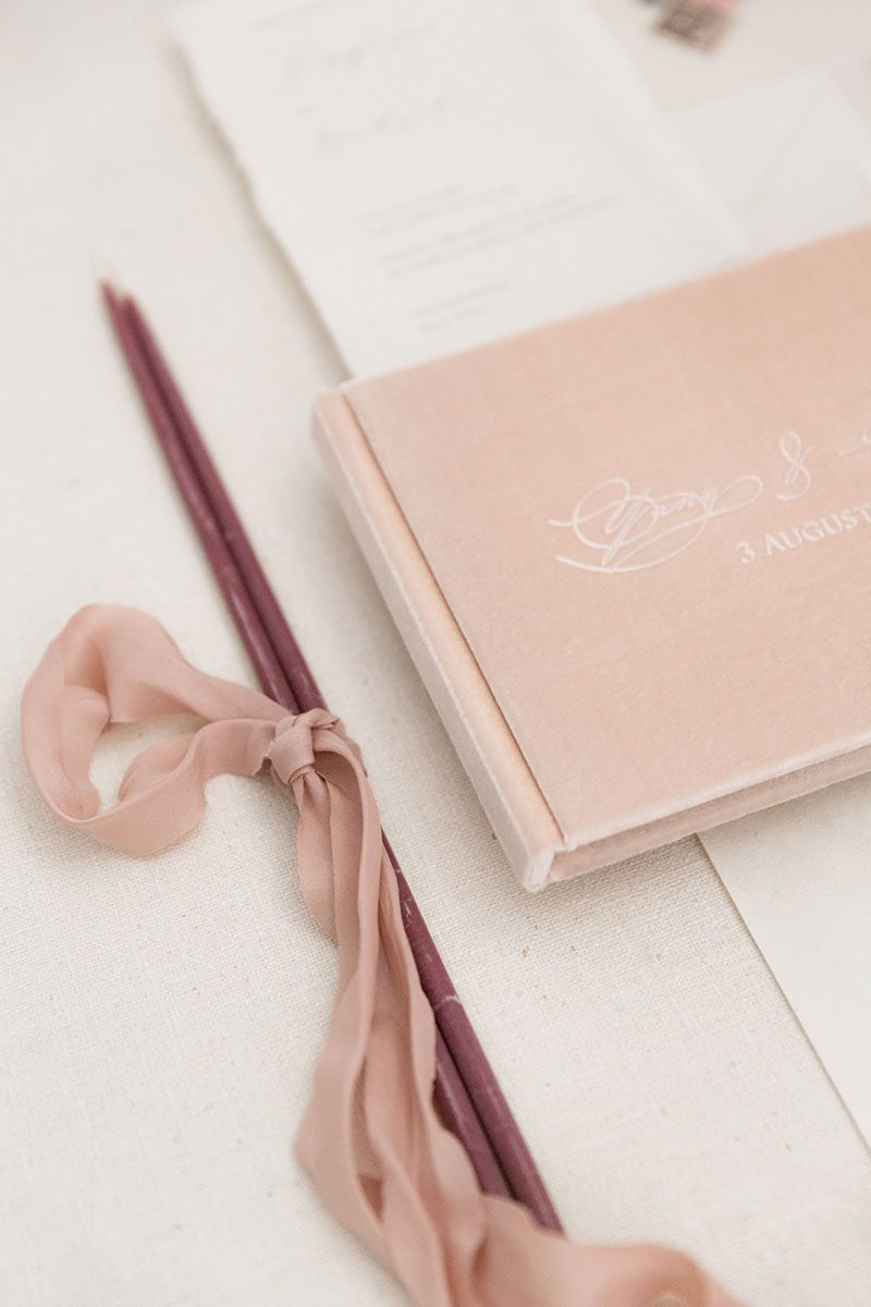 Bark-and-Berry-Blush-vintage-velvet-wedding-embossed-monogram-guest-book-photoalbum-006