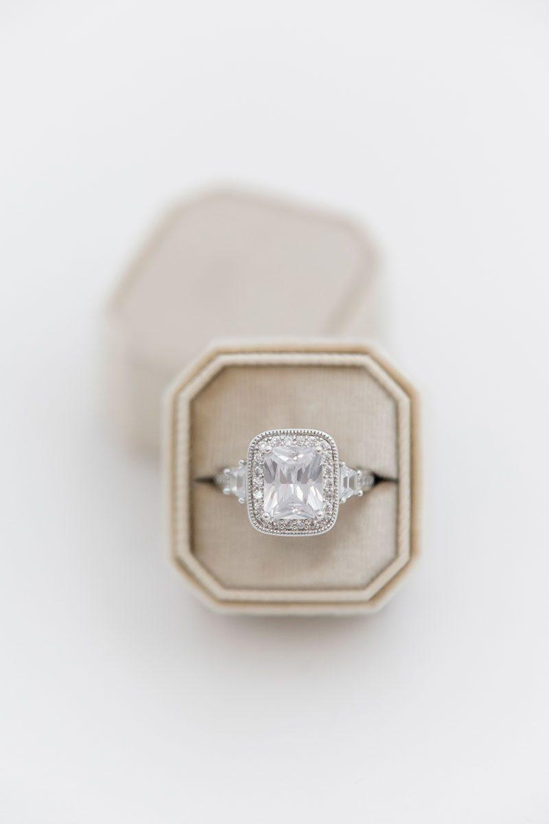 Bark-and-Berry-Beige-double-slot-vintage-wedding-embossed-monogram-octagon-velvet-ring-box-001