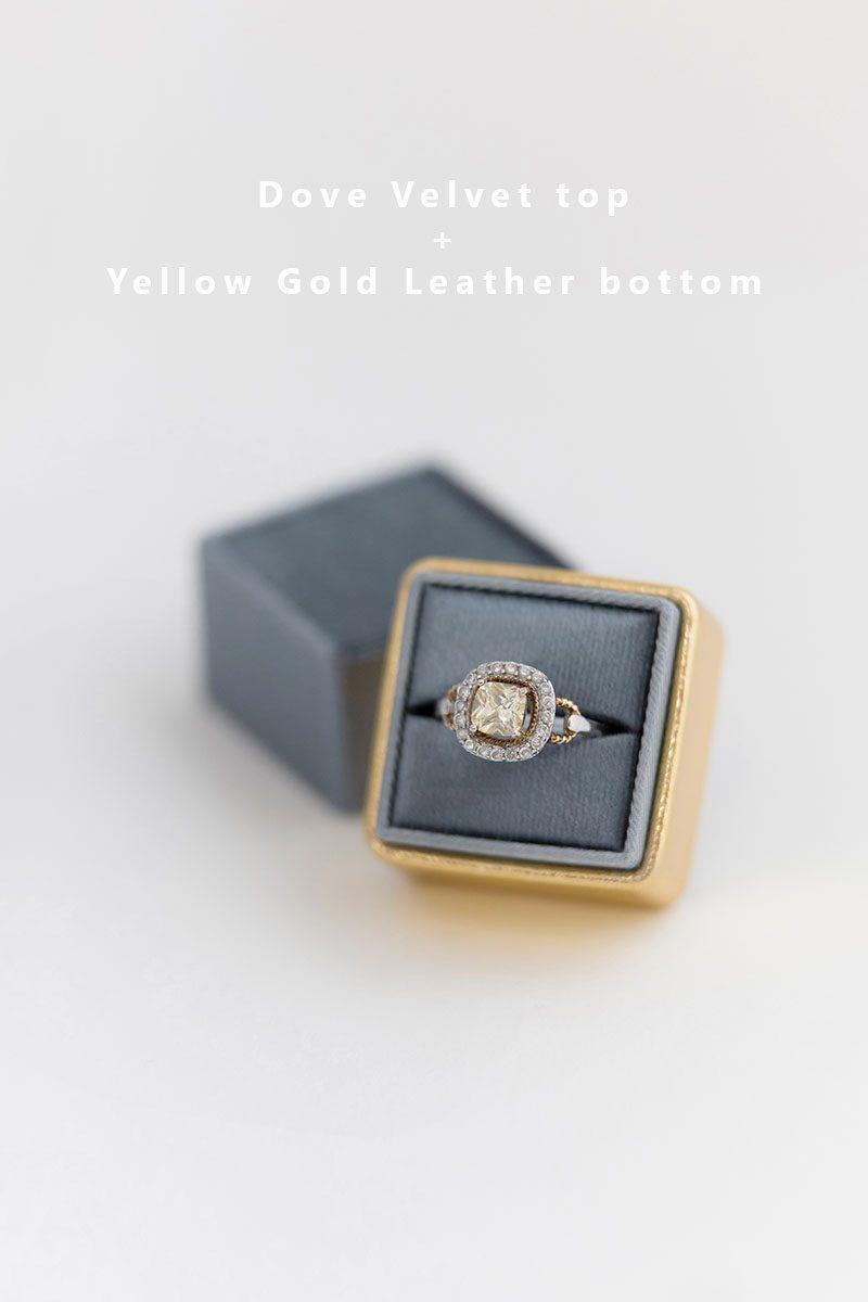 Bark-and-Berry-Dove-Yellow-Gold-double-slot-vintage-wedding-embossed-monogram-velvet-leather-ring-box-002