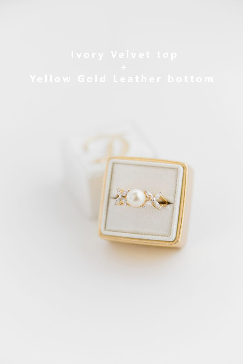 Bark-and-Berry-Ivory-Yellow-Gold-double-slot-vintage-wedding-embossed-monogram-velvet-leather-ring-box-002