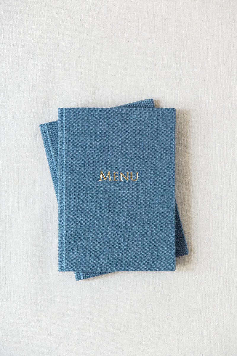 Bark-and-Berry-Stone-vintage-linen-silk-wedding-embossed-monogram-folder-menu-vows-book-002