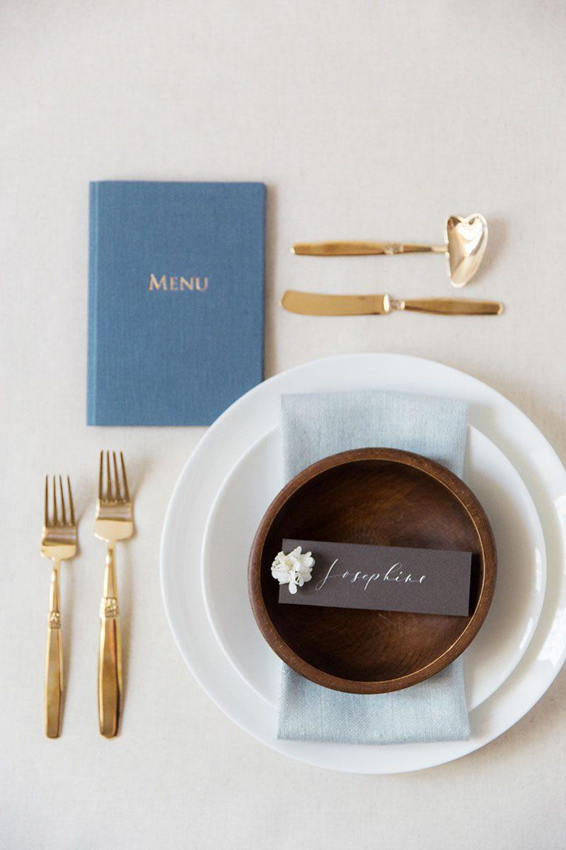 Bark-and-Berry-Stone-vintage-linen-silk-wedding-embossed-monogram-folder-menu-vows-book-005