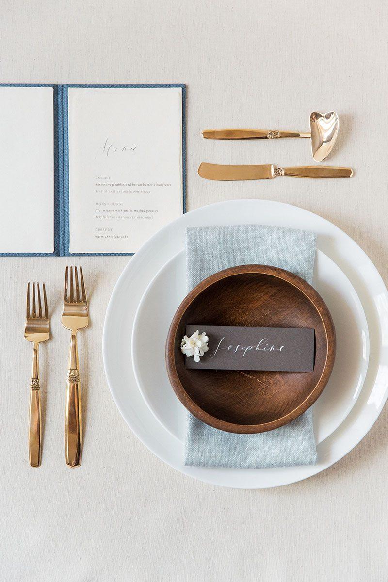 Bark-and-Berry-Stone-vintage-linen-silk-wedding-embossed-monogram-folder-menu-vows-book-007