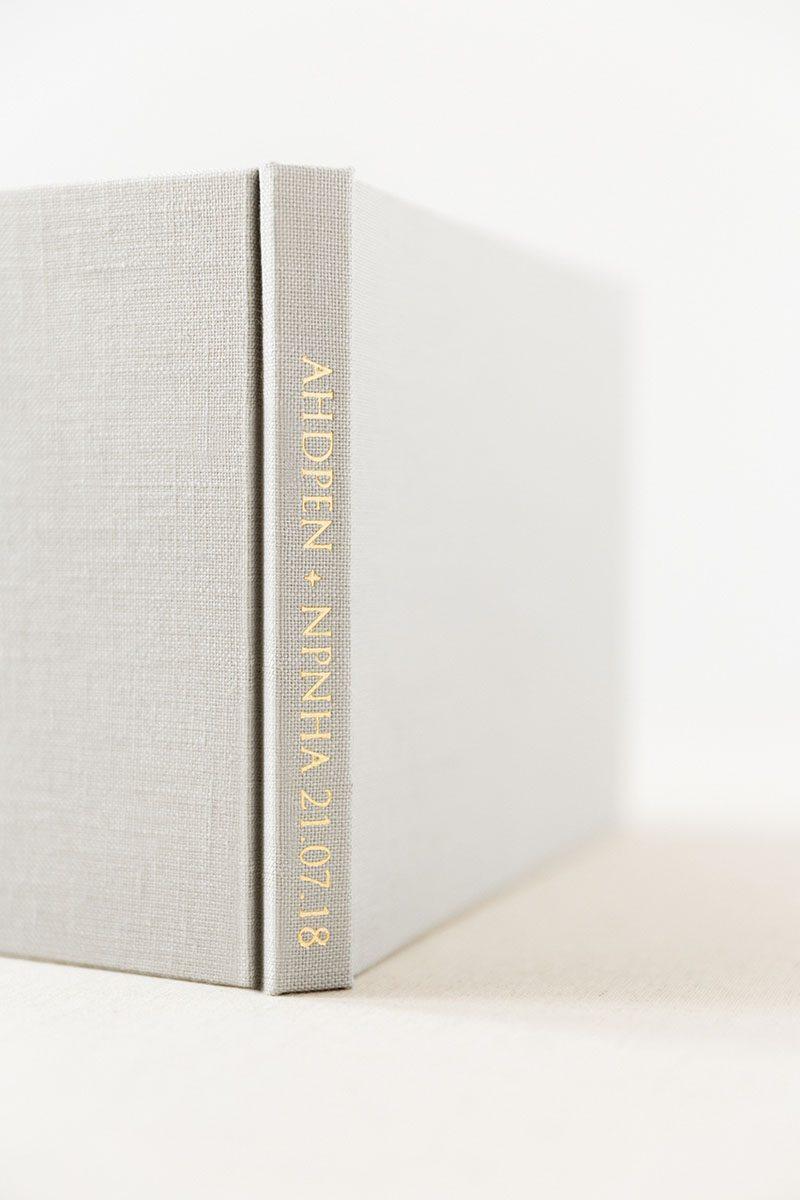 Bark-and-Berry-Cloud-vintage-wedding-embossed-monogram-linen-guest-book-003