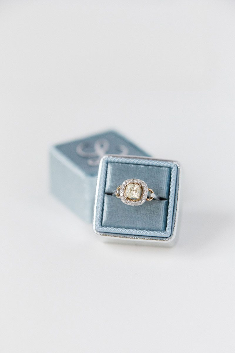 Bark-and-Berry-Lake-Silver-double-slot-vintage-wedding-embossed-monogram-velvet-leather-ring-box-001