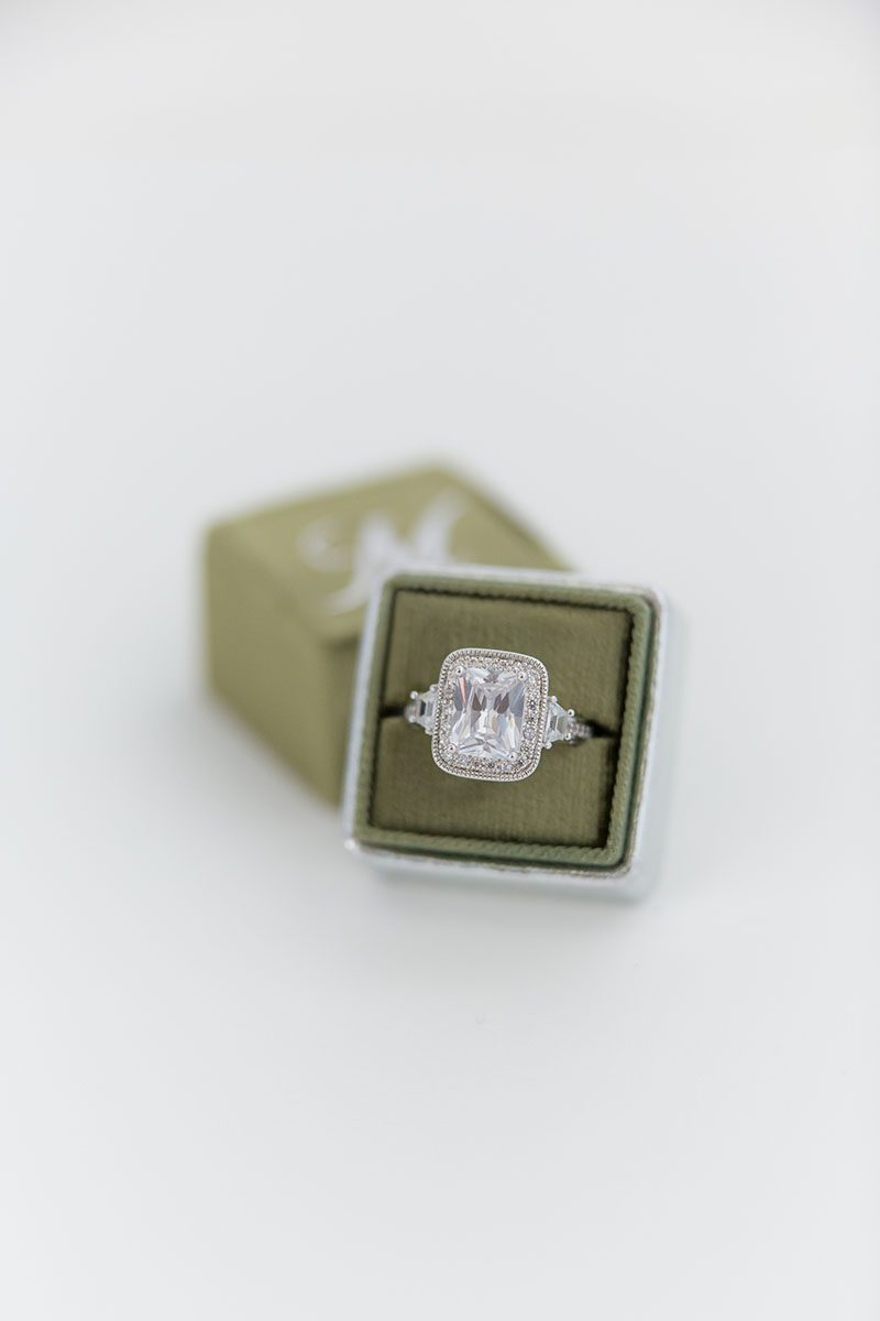Bark-and-Berry-Moss-Silver-double-slot-vintage-wedding-embossed-monogram-velvet-leather-ring-box-001