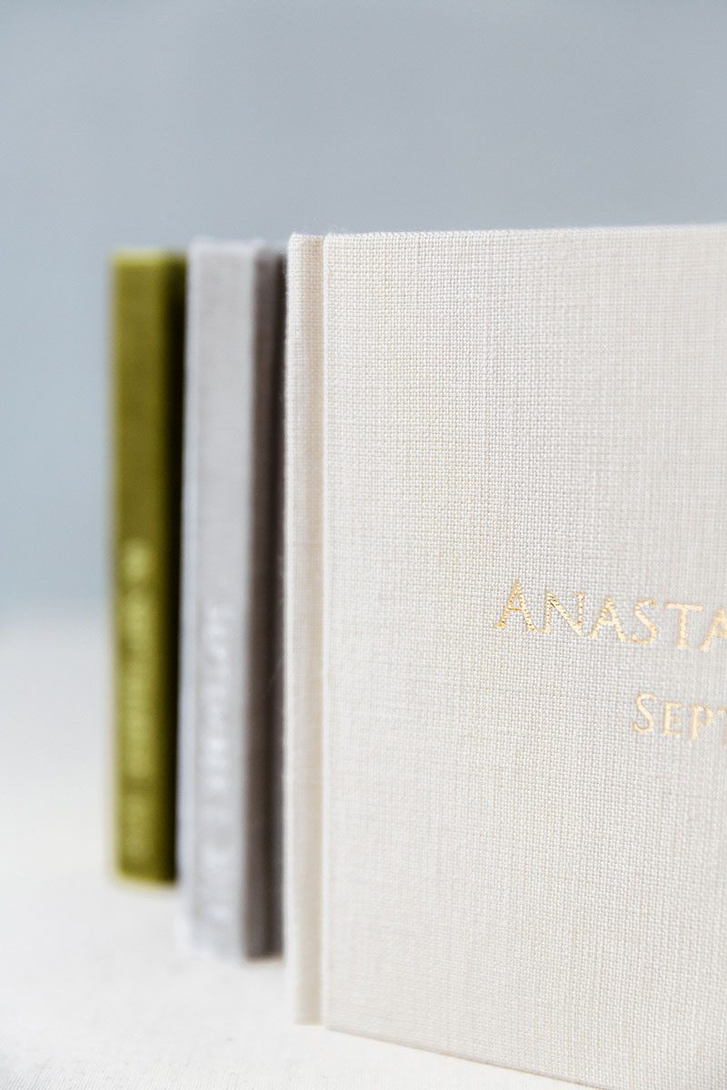 Bark-and-Berry-Olive-Fossil-Sand-vintage-velvet-linen-wedding-embossed-monogram-guest-book-002