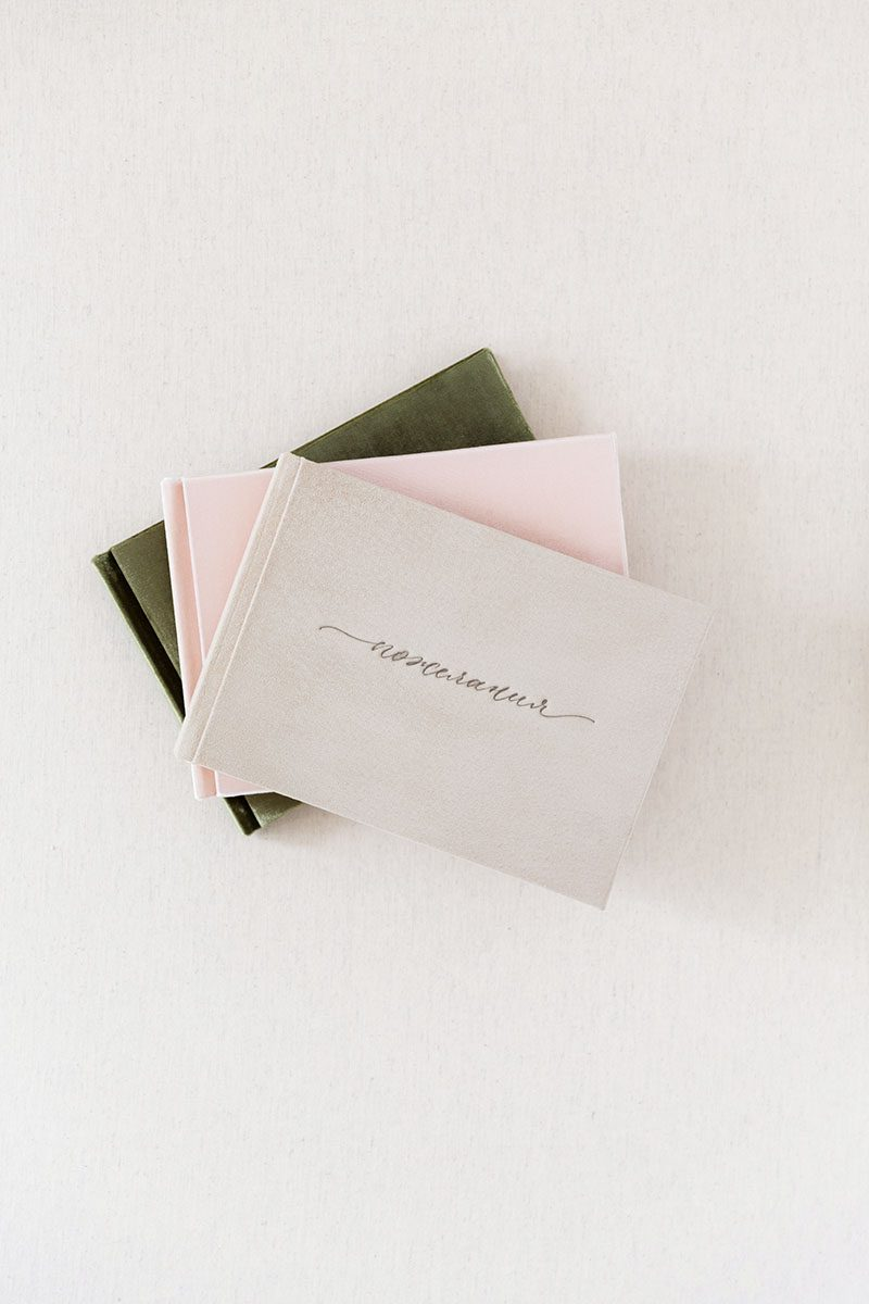 Bark-and-Berry-Anne-vintage-genuine-suede-wedding-embossed-monogram-guest-book-002
