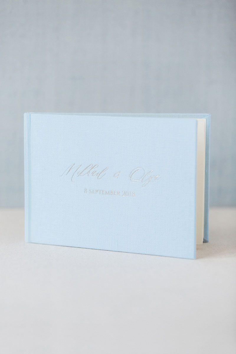 Bark-and-Berry-Azure-vintage-wedding-embossed-monogram-linen-guest-book-001