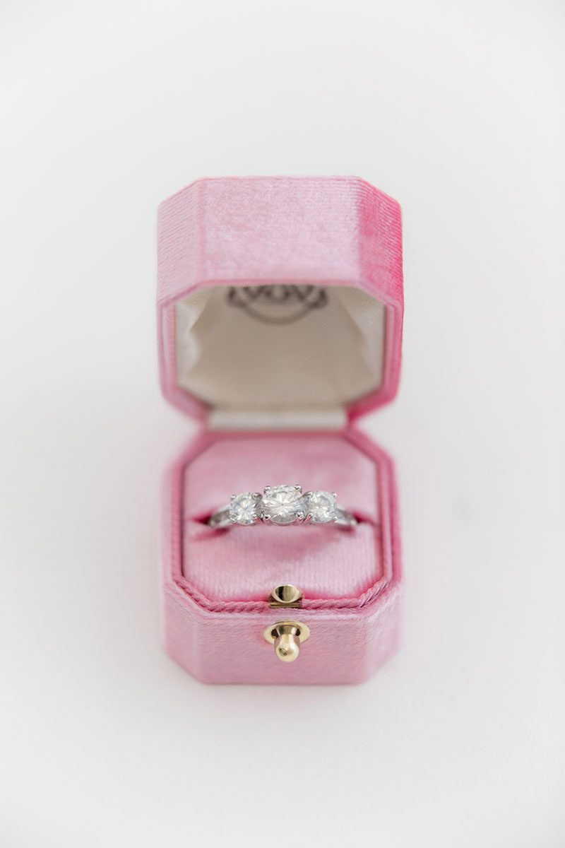 Bark-and-Berry-Frenchy-vintage-wedding-embossed-monogram-octagon-velvet-ring-box-with-lock-001