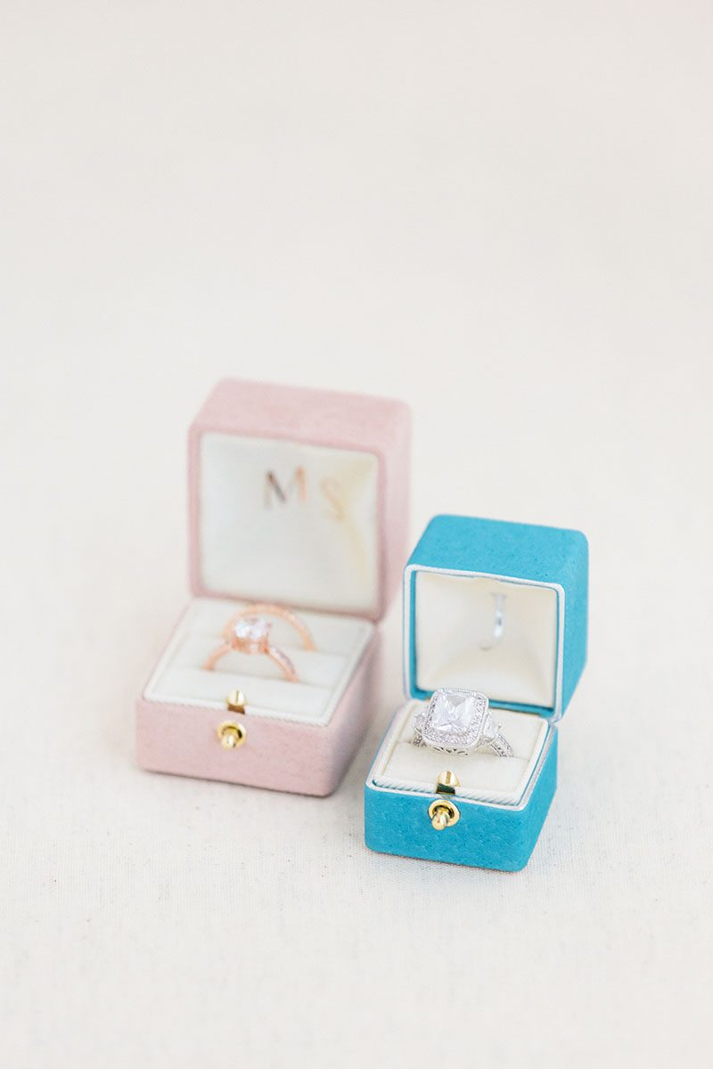 Bark-and-Berry-Grand-Diana-Petite-Cerulean-double-slot-vintage-wedding-embossed-double-monogram-velvet-leather-suede-ring-box-003