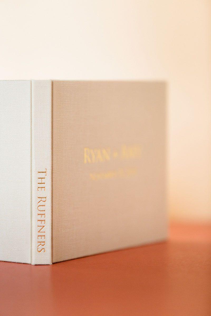 Bark-and-Berry-Sand-vintage-wedding-embossed-monogram-linen-guest-book-003
