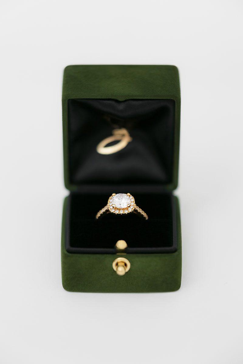 Bark-and-Berry-Charlotte-vintage-wedding-embossed-double-monogram-velvet-suede-grand-ring-box-all-black-one-slot-001