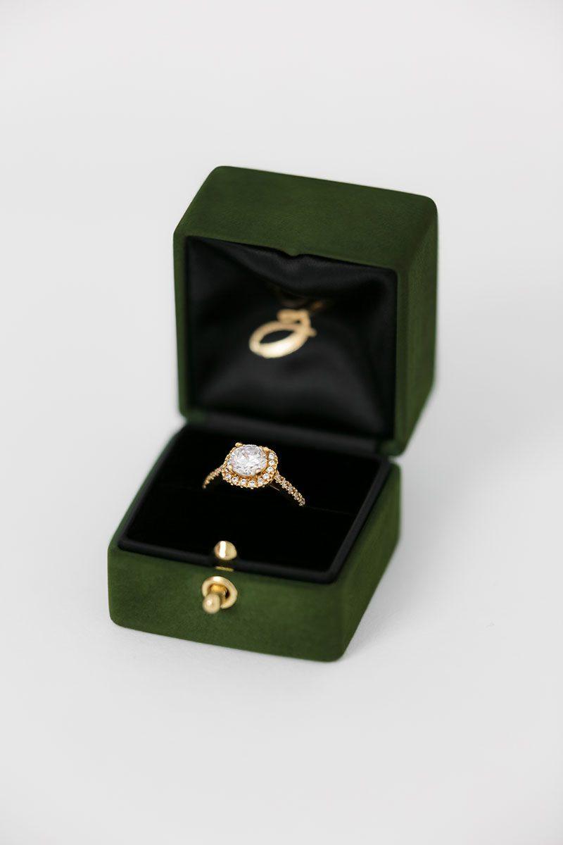Bark-and-Berry-Charlotte-vintage-wedding-embossed-double-monogram-velvet-suede-grand-ring-box-all-black-one-slot-002