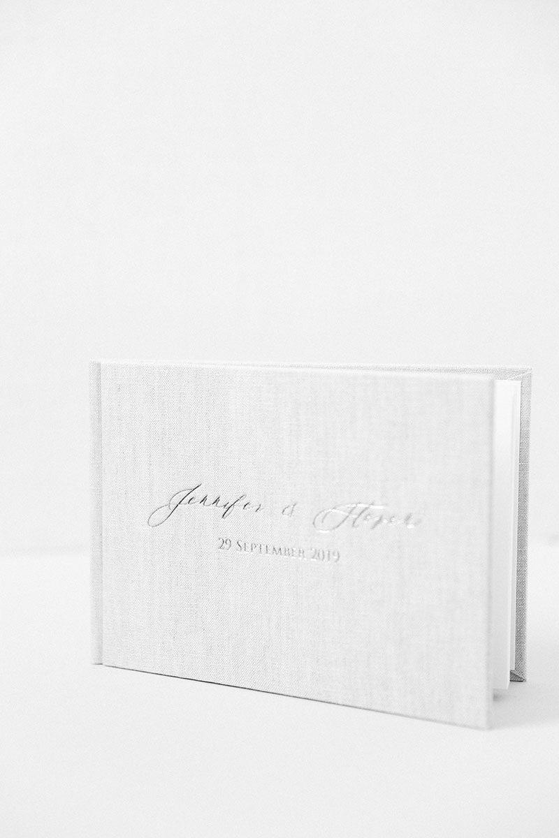 Bark-and-Berry-Oat-vintage-wedding-embossed-monogram-linen-guest-book-004