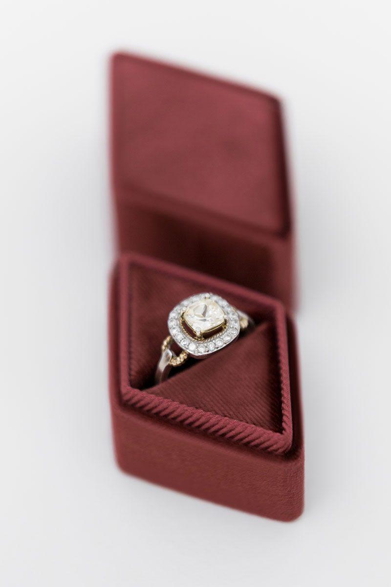 Bark-and-Berry-Wine-vintage-wedding-embossed-monogram-diamond-velvet-ring-box-002