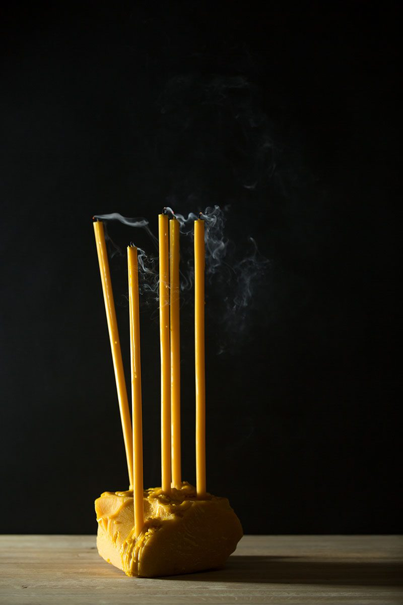 Bark-and-Berry-homemade-wedding-beeswax-tall-taper-thin-color-celebration-candles-straight-400mm-003