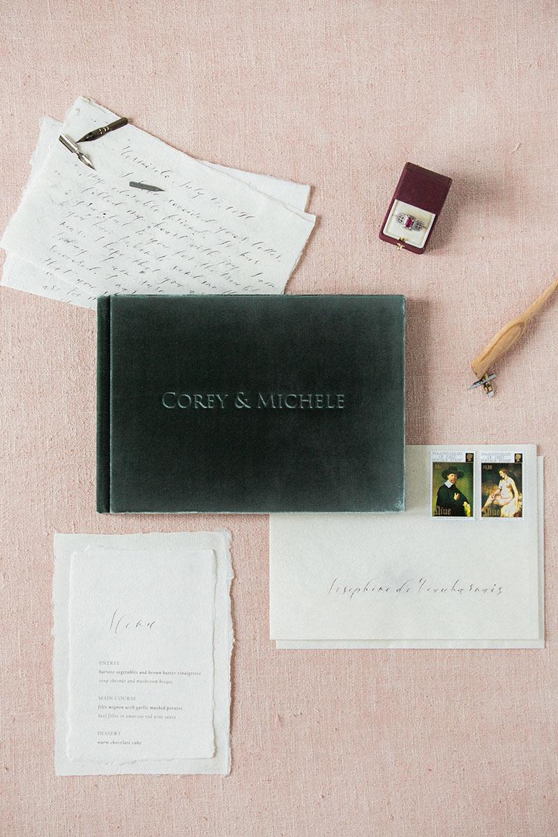 Книга пожеланий для гостей бархатный альбом свадебный альбом