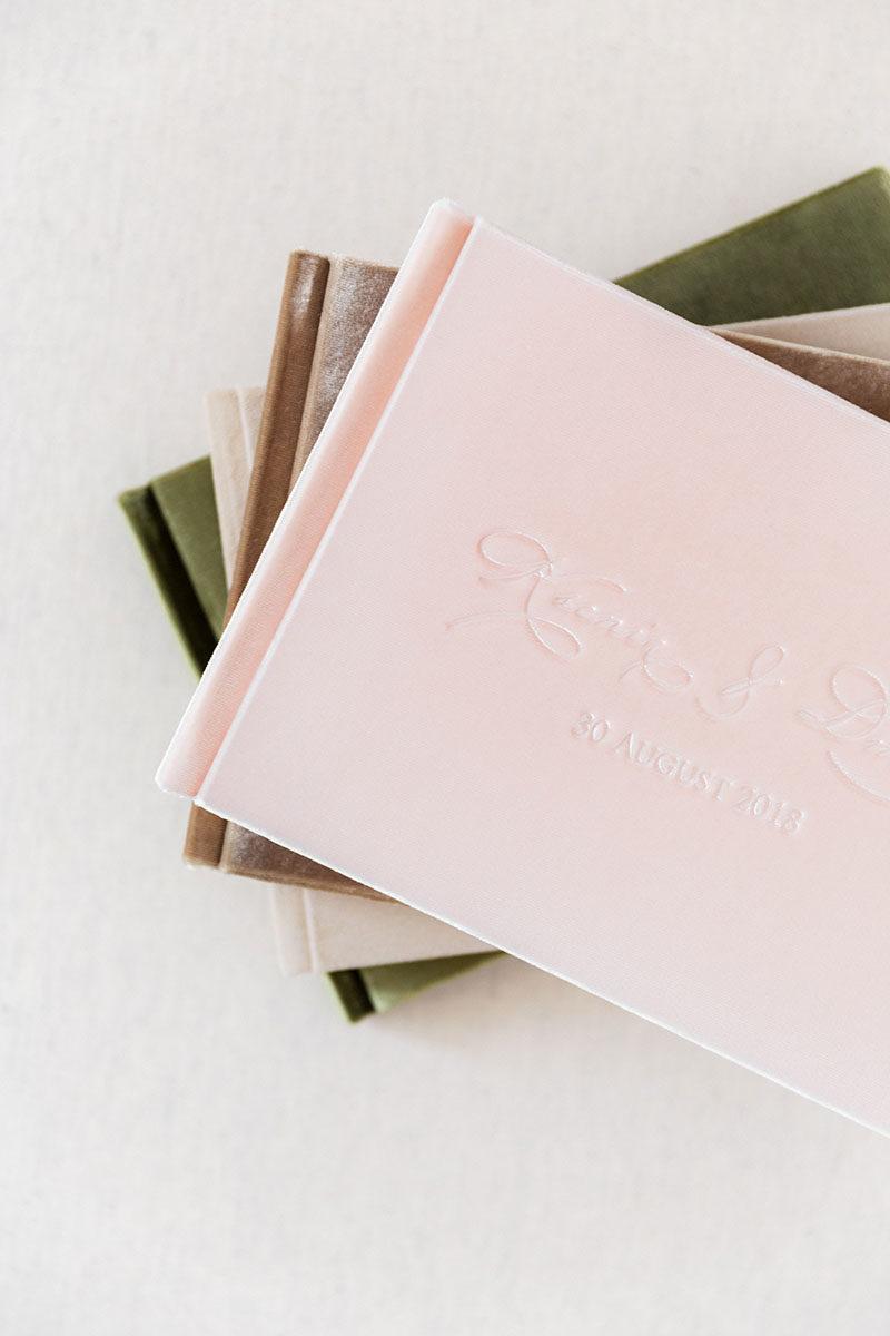 Bark-and-Berry-vintage-suede-velvet-wedding-embossed-monogram-guest-book-photoalbum-folder-mix-007