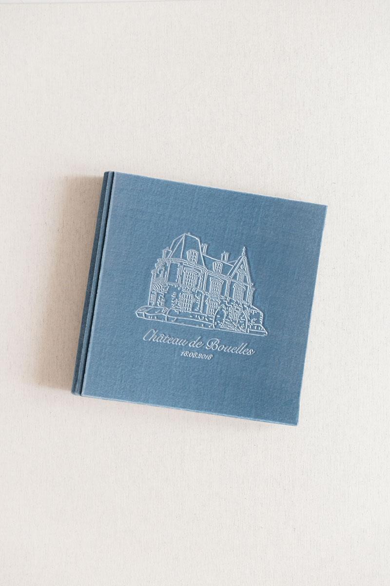 Photo album wedding guestbook Velvet