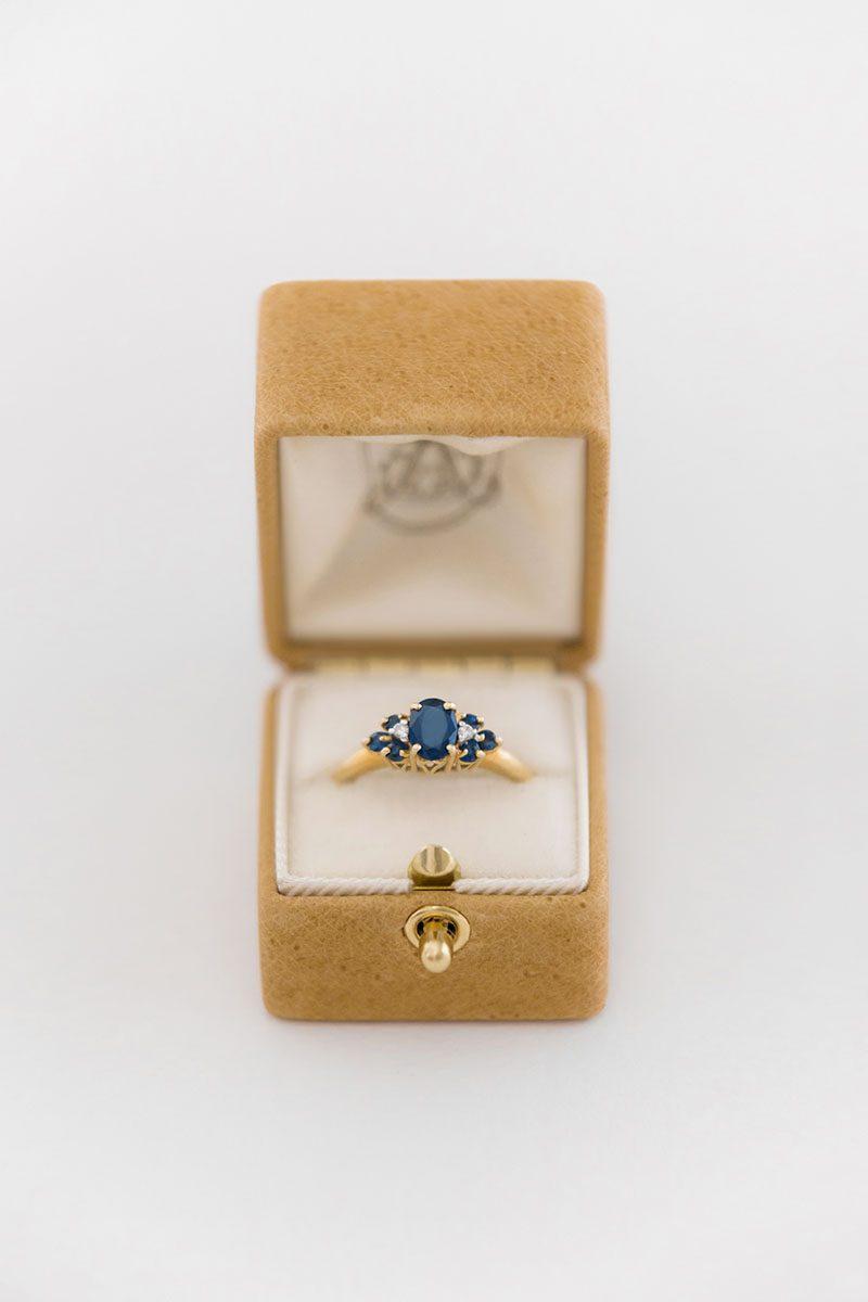 Bark-and-Berry-Ochre-vintage-wedding-embossed-monogram-velvet-leather-ring-box-001