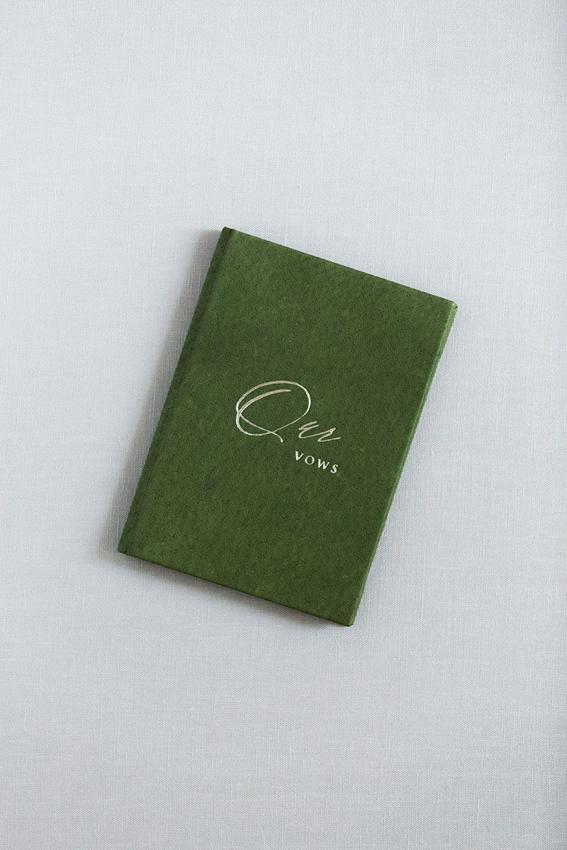 Fine art wedding Vow Book Stationery Covers Leather Linen- from Russia US UK