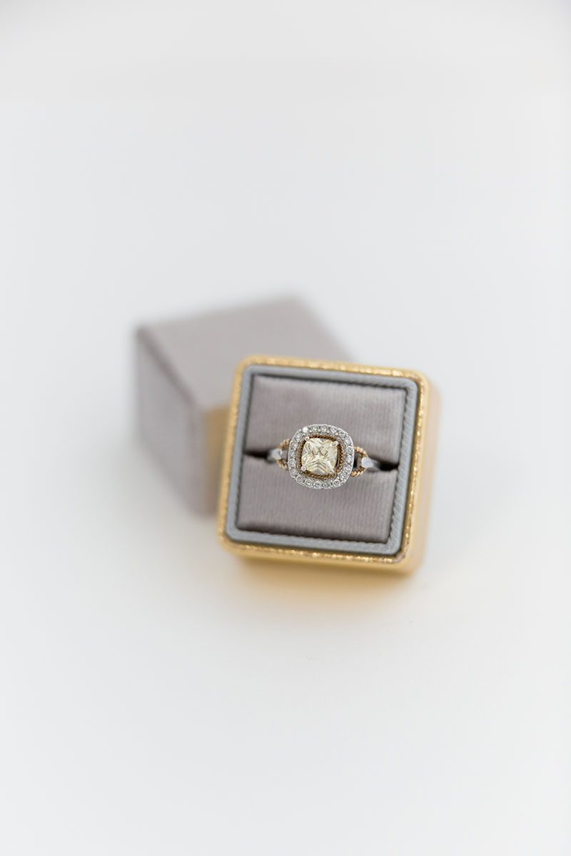 Bark-and-Berry-Fossil-Yellow-Gold-double-slot-vintage-wedding-embossed-monogram-velvet-leather-ring-box-001